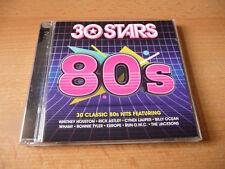 Double CD 30 stars 80s: wham starship Bros Journey survivor NKOTB Europe run dmc