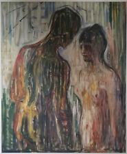 Edvard Munch: Eros and Psyke 1907; Munch Museum Print, printed 2002; unframed