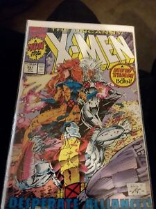 Uncanny X-Men #281 VF/NM  - 1st app Trevor Fitzroy/ Death of White Queen
