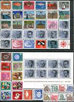 ALLEMAGNE FÉDÉRALE ANNÉE COMPLÈTE 1964 Oblitérés (N° 284/328 + BF N° 2)