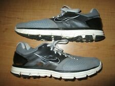 Nike Lunarglide 2 Mens Size 12.5 Running Shoes Gray Black- Super Nice- Fast Ship