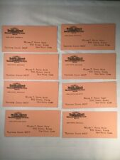 East and West Insurance Company of New Haven Ct Vintage Paper Ink Blotters Lot