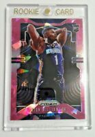 Zion Williamson 2019-20 Panini Rookie RC PINK CRACKED ICE PRIZM #248 Pelicans