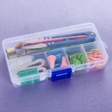 Sewing Knitting Tools Crochet Needle Accessories Supplies With Case Box Knit Set