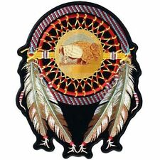 DREAM CATCHER INDIAN Embroidered Motorcycle MC Club Biker BACK Patch LRG-0014