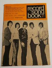 Revue  RECORD SONG BOOK Marmalade The Move Mick Jagger Marvin Gaye Animals *60's