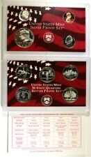 1999 U.S. SILVER PROOF SET ORIG BOX/COA Lot 487