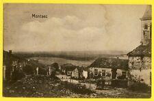 cpa France Carte Allemande Guerre 1914 MONTSEC (Meuse)