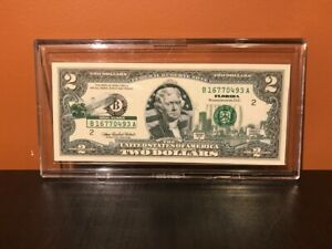 $2 Bank Note Florida Space Shuttle 2003A Two Dollars