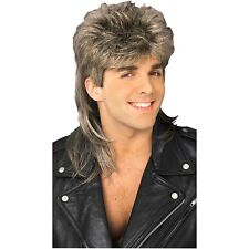 Dirty Blonde Mullet Wig Costume Accessory Mens Joe Dirt Redneck Hillbilly