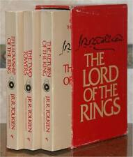 LORD OF THE RINGS ~ COMPLETE 3 VOL SET ~ SLIPCASED ~ TOLKIEN ~ LOT 6713