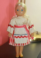VERY RARE OLD VINTAGE RUSSIAN SOVIET DOLL c.1969 Antigua muñeca rusa