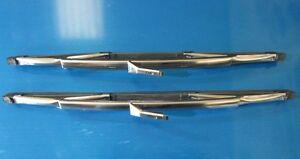 Hillman Imp Husky Singer Chamois Wiper Blades. Genuine TEX. NEW (Pair)