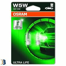 OSRAM W5W Ultra Life (501) Außenbirnen 12V 2825ULT-02B DuoBox
