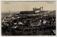 AK Bratislava, Pressburg, Teilansicht m. Burg 1908