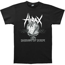 Hirax Barrage Of Noise 2001 Skull Album Cover T-Shirt