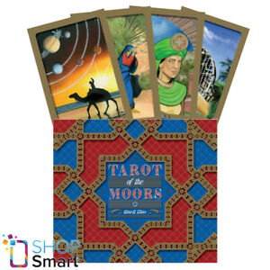 TAROT OF THE MOORS CARDS BOOK SET SCHIFFER PUBLISHING GINA THIES NEW