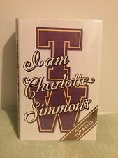 I Am Charlotte Simmons by Tom Wolfe (2004) HC former library book
