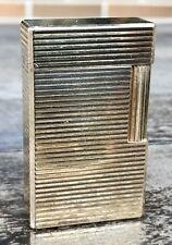 S.T. DUPONT PARIS Vintage Gold Plated Lighter Briquet Feuerzeug Q7D753 Mechero
