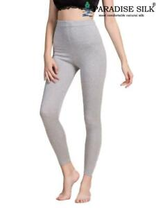 Womens Silk Cashmere Blend Under Pants Bottom