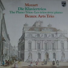 Mozart Die Klaviertrios Beaux Arts Trio 2 LP-Box mit Beilage Philips 6768 032