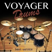 New Best Service Voyager Drums VST Plug-In Software AU VST for Mac/PC