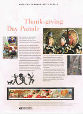 #841 44c Thanksgiving Day Parade #4417-4420  USPS Commemorative Stamp Panel