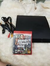 Used Sony PlayStation 3 PS3 Slim Console Works Great! 1Game include
