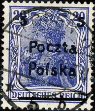 POLOGNE / POLAND / POLEN - 1919 - Mi.131 - 5 / 20pf Used POSEN O. 5b (Poznań)