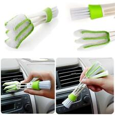 Double Ended Car Vent Brush Computer Mini Dust Cleaner Window Air Con Brush Hot