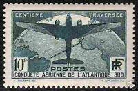 "FRANCE STAMP TIMBRE N° 321 "" ATLANTIQUE SUD 10F "" NEUFxx TTB,VALEUR: 800€ !"