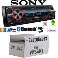 Sony Radio für VW Passat 3B 3BG | Bluetooth MP3/USB iPhone - Android - Einbauset