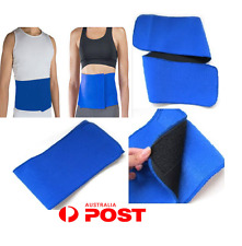 UNIVERSAL WAIST BELT SLIMMING SAUNA WEIGHT LOSS FAT BURNING FITNESS BELT-BLUE