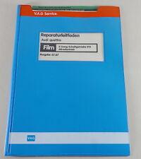 Manual de Taller Microfich Audi Quattro Cambio - Caja 016/5-Gang Cuatro Ruedas