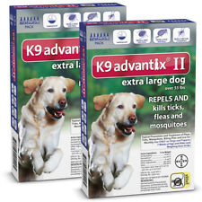 K9 Advantix II for Extra Large Dog Over 55 lbs - 12 Pack (US EPA Approved)