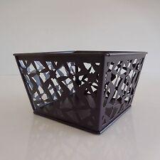 Corbeille en métal de style art nouveau
