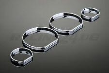 Tachoringe Set chromline chrom glänzend für 3er BMW E46 Coupe auch M3