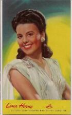LENA HORNE Sophisticated & Sultry Songster Vintage UNUSED Victor RCA Postcard