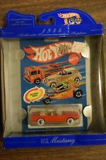 Hot Wheels Boxed 30th Anniversary Commemorative Replica 1984 '65 Mustang 1997