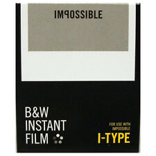 Impossible I-Type Instant Black and White Film - for I-1 Camera/Impossible Lab