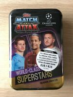 Topps Match Attax TCG Seson 2019/20  UEFA Champions League Mega Tin SUPERSTARS
