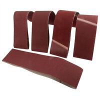 5PCS P40-1000 Bandes Abrasives pour Ponceuse à Bandes 100x915 75x533 75x457mm