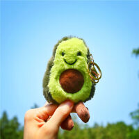 New avocado keychain fruit filled plush toy filled doll key ring children's-gift