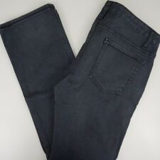 VANS Men's 31x29 Jeans Off The Wall Canvie Pants Charcoal Gray Slim Fit Mid Rise