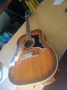 EROS 12 STRING 612 Nevada Acoustic Guitar (Garanzia) made in italy (599)