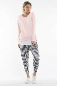 Elm Clothing Sydney Crew Pink