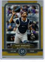 Gary Sanchez 2019 Topps Museum 5x7 Gold #59 /10 Yankees