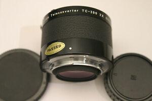 Nikon TC-200 2X Teleconverter. Nikon F fit