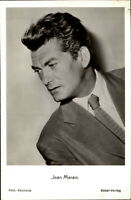 Film Kino Bühne TV Schauspieler JEAN MARAIS  ~1950/60 Foto-Porträt Rüdel-Karte