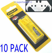10 x Stanley 1996 Hooked Blades Heavy Duty Hook Fits Folding Retractable Knife